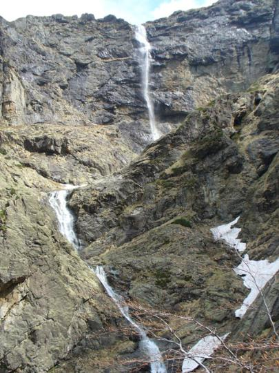 Видимский водопад