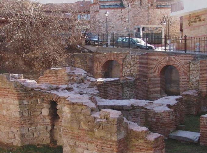 Комплекс византийских бань