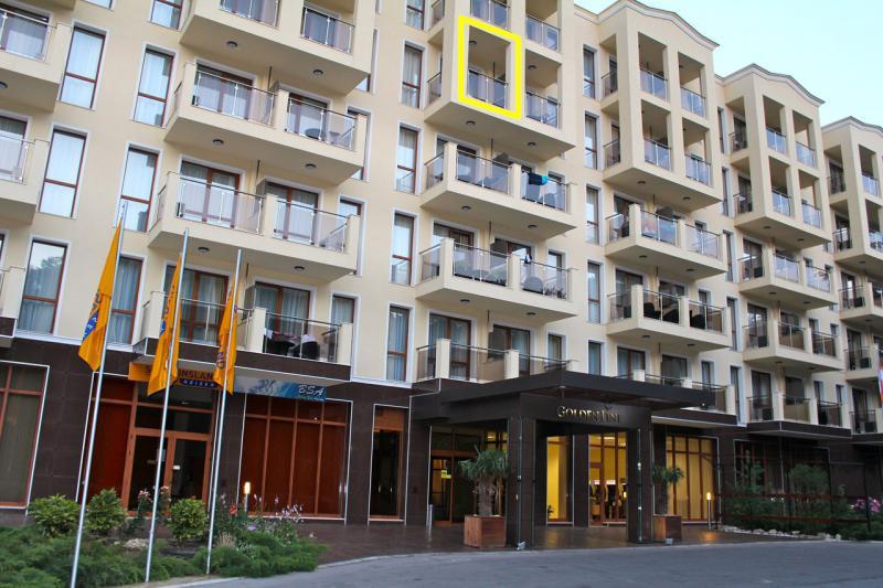 Апартамент в Золотых песках за 25 €  в сутки
